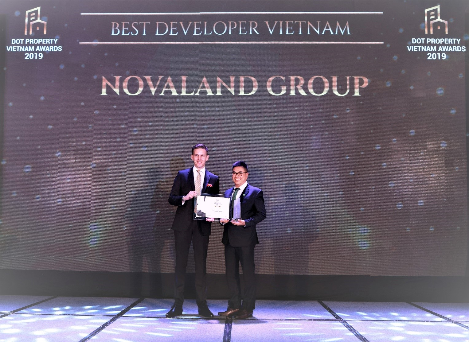 Novaland Group đạt giải Best Developer Vietnam tại Dot Property Awards 2019